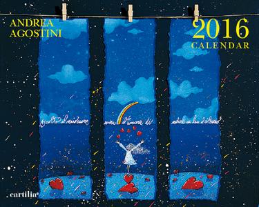 Cartoleria Calendario da tavolo 20x16 2016: Agostini Cartilia