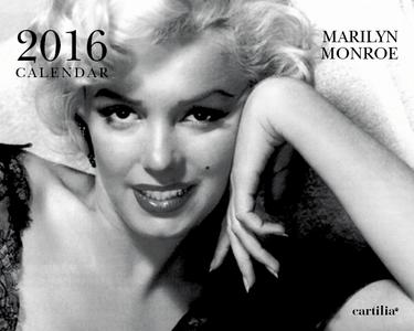 Cartoleria Calendario da tavolo 20x16 2016: Monroe Cartilia