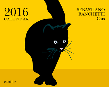 Cartoleria Calendario da tavolo 20x16 2016: Ranchetti cats Cartilia