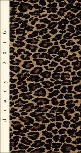 Cartoleria Agenda 12 mesi settimanale 2016: Leopard Cartilia