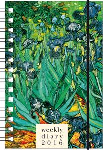 Cartoleria Agenda 12 mesi settimanale PP S 2016: Van Gogh Cartilia
