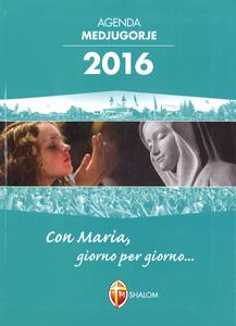 Cartoleria Agenda Medjugorje 2016 Shalom 0