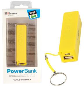 Power Bank da 2600 mAh Giallo