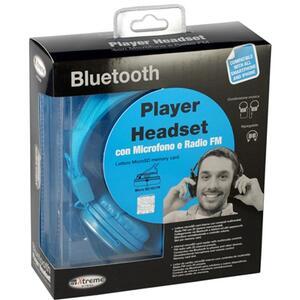 Cuffia Audio Bluetooth + RadioFM + Microfono - 2