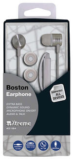 Xtreme Boston Auricolare Stereofonico Cablato Bianco auricolare per  telefono cellulare 6aae0f29b56f