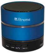 Idee regalo Speaker Bluetooth Led + Lettore MP3 Blu Xtreme Audio/Video