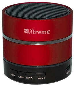 Speaker Bluetooth Led + Lettore MP3 Rosso