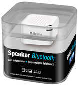 Idee regalo Mini Speaker Bluetooth Bianco Xtreme Audio/Video