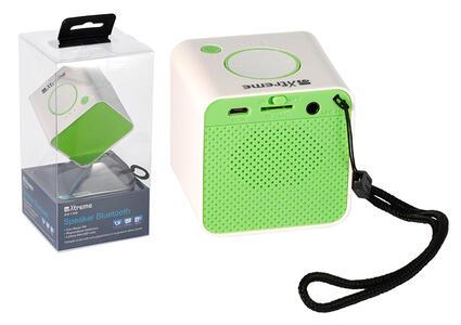 Mini Speaker Cubo Bluetooth+MP3 Verde
