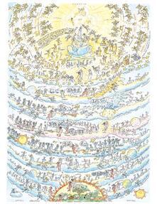 Puzzle Formiche 1080 pezzi. Divina Commedia. Paradiso