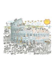 Puzzle Formiche 1080 pezzi. Colosseo