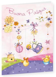 Biglietto auguri Pasqua Style