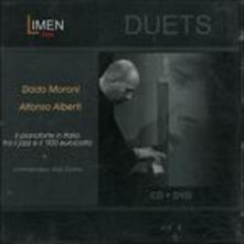 Il pianoforte in Italia tra il jazz e il '900 eurocolto - CD Audio + DVD di Dado Moroni,Alfonso Alberti