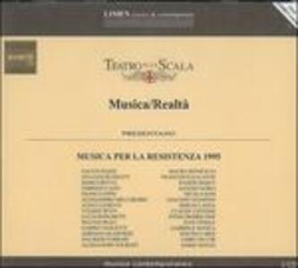 Musica per la Resistenza 1995 - CD Audio