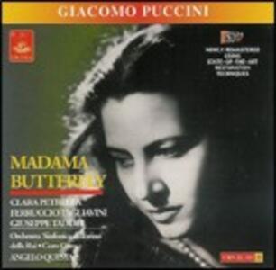 Madama Butterfly - CD Audio di Giacomo Puccini,Ferruccio Tagliavini,Giuseppe Taddei,Clara Petrella,Orchestra Sinfonica RAI di Torino,Angelo Questa