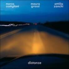 Distanze - CD Audio di Attilio Zanchi,Mauro Grossi,Marco Castiglioni