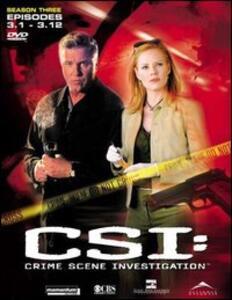CSI. Crime Scene Investigation. Stagione 3. Vol. 1 (3 DVD) - DVD