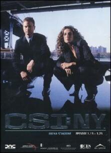 CSI: NY. Stagione 1 Vol. 2 (Serie TV ita) (3 DVD) - DVD