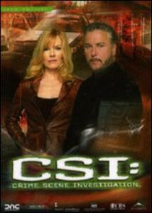 CSI. Crime Scene Investigation. Stagione 6. Vol. 1 (3 DVD) - DVD