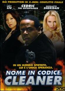 Nome in codice: Cleaner di Les Mayfield - DVD