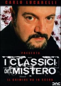 I classici del mistero. Il crimine va in scena - DVD