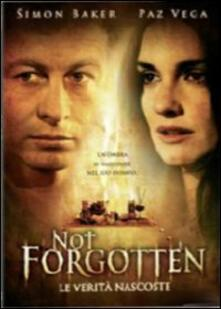 Not forgotten. Le verità nascoste di Dror Soref - DVD