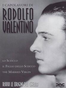 Rodolfo Valentino. I capolavori (3 DVD) di George Fitzmaurice,Emmett J. Flynn,George Melford