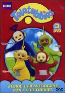 Teletubbies. Storie e filastrocche con i Teletubbies (3 DVD) - DVD