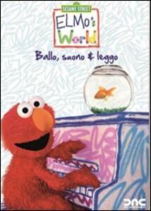 Il mondo di Elmo. Ballo, suono & leggo - DVD