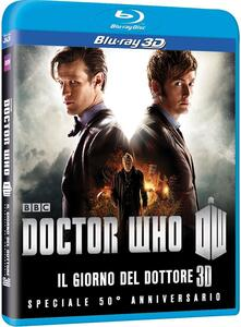 Doctor Who. The Day of the Doctor. 3D. Speciale 50° anniversario<span>.</span> versione 3D - Blu-ray