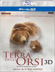 La terra degli orsi 3D di Guillaume Vincent - Blu-ray