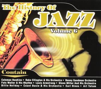 The History of Jazz vol.6 - CD Audio