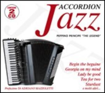 Jazz Accordion - CD Audio di Peppino Principe
