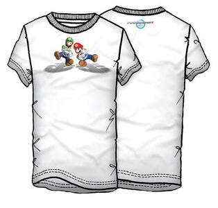 T-Shirt Mariokart WII