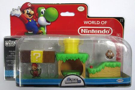 Micro Figure Nintendo Playset Sq. Mario