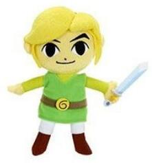 Peluche Super Mario 15cm. Link