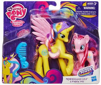 Giocattolo My Little Pony Gold Lily& Pinkie Pie Hasbro