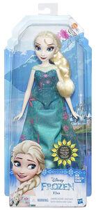 Giocattolo Disney Fashion Doll Frozen Fever. Elsa Hasbro