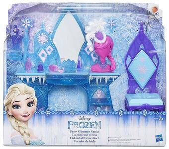 Giocattolo Frozen Scene Set Elsa Glimmer Vanity Hasbro 0