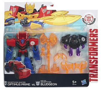 Giocattolo Transformers Rid Battle PK Optimus Hasbro