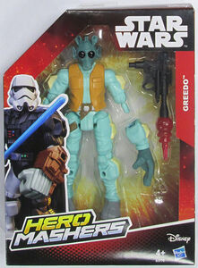 Giocattolo Action figure Greedo Hero Mahers Star Wars The Force Awakens Hasbro