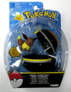 Figure Pokemon Eevee+Luxury Ball - 2