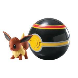 Figure Pokemon Eevee+Luxury Ball - 3
