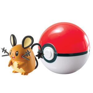 Figure Pokemon Dedenne+Poke Ball
