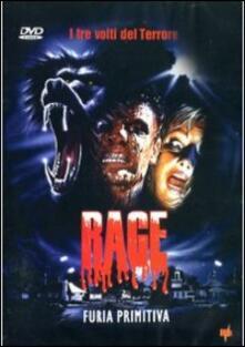 Rage, furia primitiva di Vittorio Rambaldi - DVD