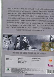 Il testamento del dottor Mabuse di Fritz Lang - DVD - 2