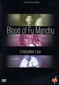 The Blood of Fu Manchu di Jess Jesus Franco - DVD