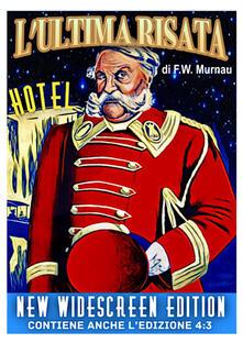 L' ultima risata. New Widescreen Edition (DVD) di Friedrich William Murnau - DVD