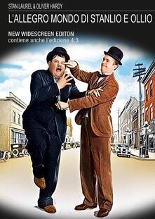 L' allegro mondo di Stanlio e Ollio (1923-1929). New Widescreen Edition (DVD) di Robert Youngson - DVD