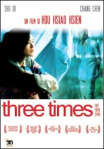 Three Times di Hsiao-hsien Hou - DVD